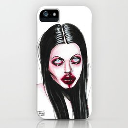 Angelina Jolie No. 4 iPhone Case