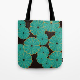 Sunny Blue Tote Bag