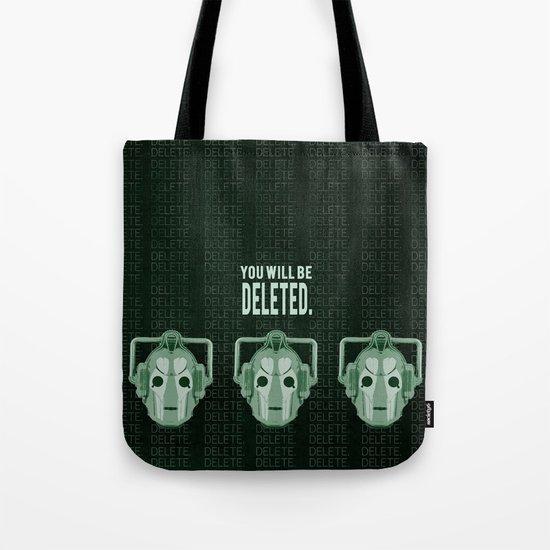 Doctor Who: Cybermen Print Tote Bag