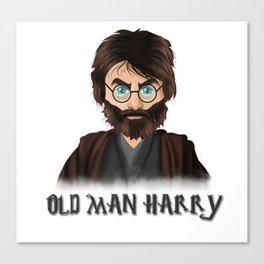 Old Man Harry Canvas Print