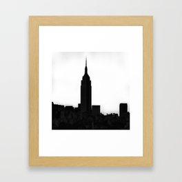 An Empire State Framed Art Print