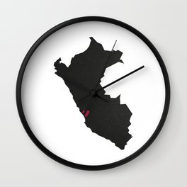 Lima Corazón Wall Clock