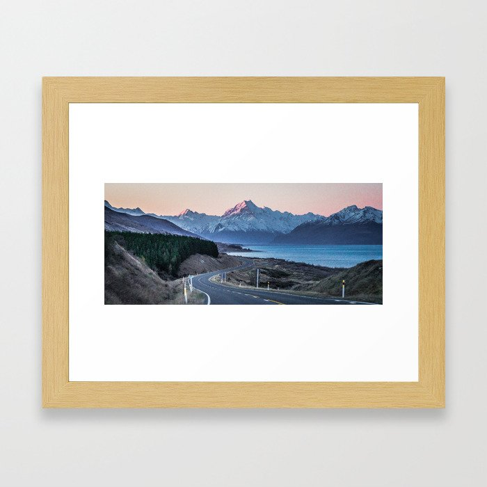 Dusky Cloud Piercer Framed Art Print