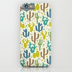 Prickly Cactus (Greens) iPhone 6s Slim Case