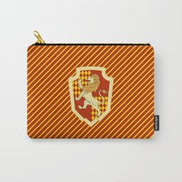 HP Striped Gryffindor house crest Carry-All Pouch