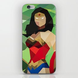 GEOMETRIC SUPERHERO iPhone Skin