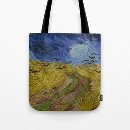 Wheatfield with Crows Tote Bag