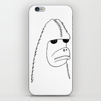 sasquatch iPhone & iPod Skins featuring Sasquatch by NarwhalWolf