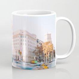 Barcelona 01 -  City vibes, Spain, Travel, Street Urban Photography, Wall Art, Home Decor, Europe Coffee Mug