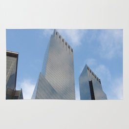 New Yorker Skyline  Rug