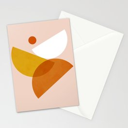 Abstraction_Geometric_Shape_DANCE_Minimalism_001 Stationery Cards