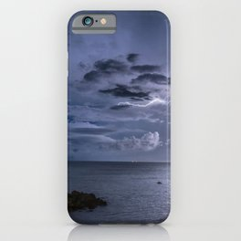 Lightning Strikes iPhone Case