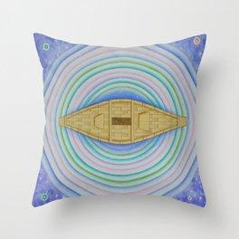 Boat life Throw Pillow