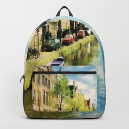 Amsterdam Waterways Backpack