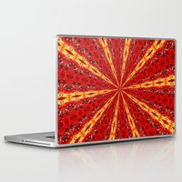 novelty Laptop & iPad Skins featuring FALL KALEIDOSCOPE  by Teresa Chipperfield Studios