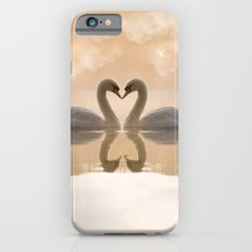 Love of swans iPhone 6s Slim Case