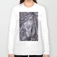 plain Long Sleeve T-shirts featuring Plain Jane by Sartoris ART