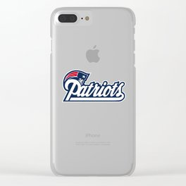 New England Patriotss Clear iPhone Case