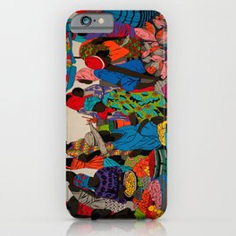 African market 3 iPhone Case