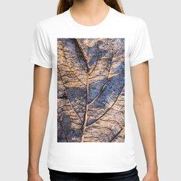 leaf detail T-shirt
