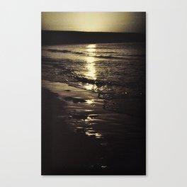Dawn in Dublin. Canvas Print
