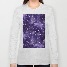 Zodiac Watercolor Ultraviolet Long Sleeve T-shirt