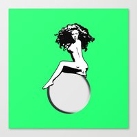 artrave Canvas Prints featuring artRAVE by Greg21