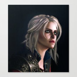 Ciri : The Witcher Canvas Print