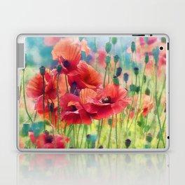 Poppy Parade Laptop & iPad Skin