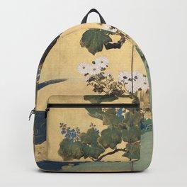 Paulownias and Chrysanthemums Backpack