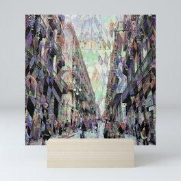 Feelings eliminate random rancorous angle nabbing. Mini Art Print