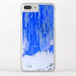 Snow Dreams Clear iPhone Case