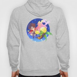 teddy billy - love stars Hoody