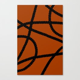 White Ropes Canvas Print