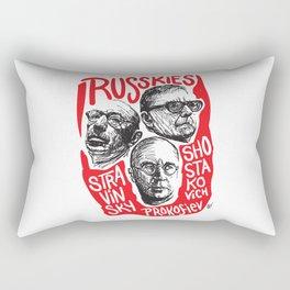 Russkies-Russian composers Rectangular Pillow