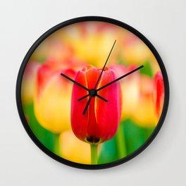 Gentleman In Red Wall Clock