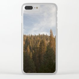 Tree Tops Clear iPhone Case