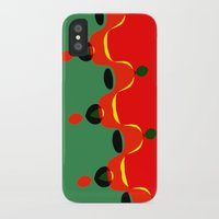 xmas iPhone & iPod Cases featuring xmas by Milenix Loerdi