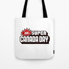 150th Super Canada Day Tote Bag