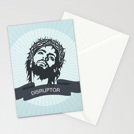 Jesus the Disruptor Stationery Cards