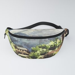 Himalayan Village in Nepal Fanny Pack