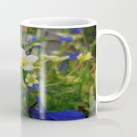 insects Mugs featuring An insects eye view. by Heather Goodwin