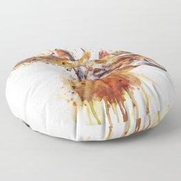 Moose Head Floor Pillow