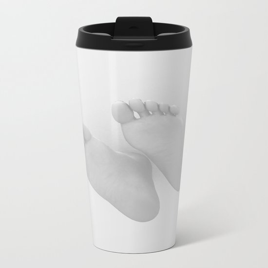 Dancing Barefoot Metal Travel Mug