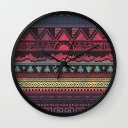Autunno   Tribal Wall Clock