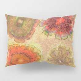 Nonpacificatory Structure Flowers  ID:16165-075207-87310 Pillow Sham