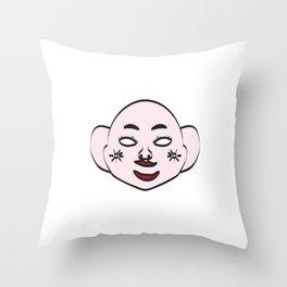 Vietnamese Traditional Mask Throw Pillow