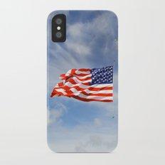 Old Glory Slim Case iPhone X