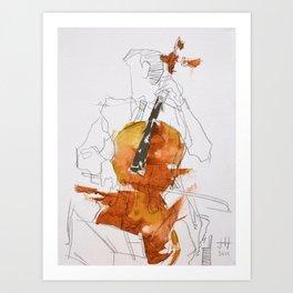 Quartet Series - 3 of 4 Art Print