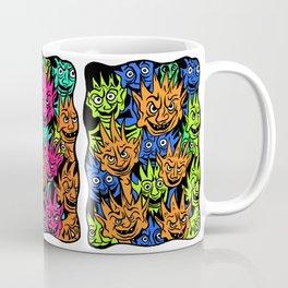 Ghoul Pattern/Monsters Design Coffee Mug